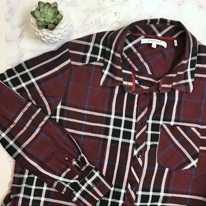 Foxcroft Plaid Shirt